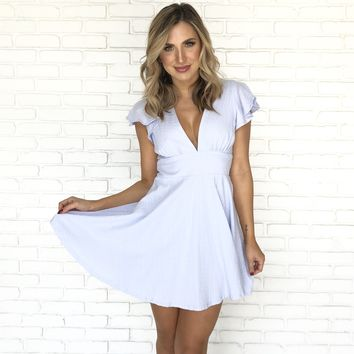 Smitten For You Skater Dress