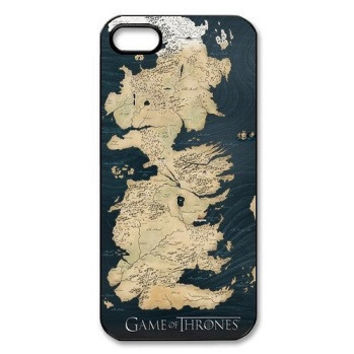 Westeros Map iPhone Case