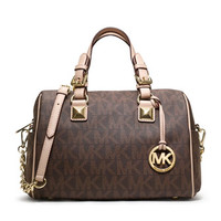 MICHAEL Michael Kors Medium Grayson Logo Satchel