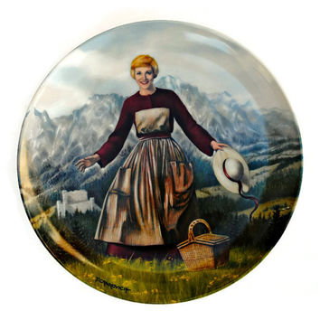 "Sound of Music Collector's Plate ""The Sound of Music"" First Plate in the Collector Series - (100.85)"