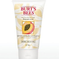 Burt's Bees® Peach and Willowbark Deep Pore Scrub 110g | Walmart.ca