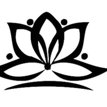 Lotus Flower Tattoo Set
