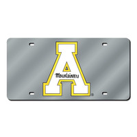 Appalachian State Mountaineers NCAA Laser Cut License Plate Cover