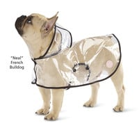 Dog's Clear Raincoat - Dog Beds, Gates, Crates, Collars, Toys, Dog Clothing & Gifts