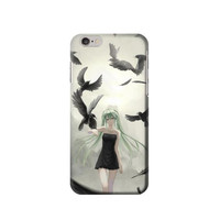 P1969 Vocaloid Hatsune Miku Black Phone Case For IPHONE 6S PLUS
