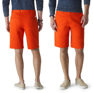 Clemson Tigers Dockers Game Day Shorts - Orange