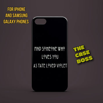 SOMEONE WHO LOVES Design Custom Phone Case for iPhone 6 6 Plus iPhone 5 5s 5c iphone 4 4s Samsung Galaxy S3 S4 S5 Note3 Note4 Fast!