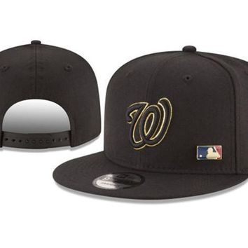 New Arrival New Era Black Cap MLB Baseball Fitted Hat-2