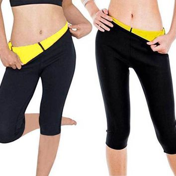 Women Slimming Pants Hot Neoprene Body Shaper Fat Burner Sport Yoga Sauna