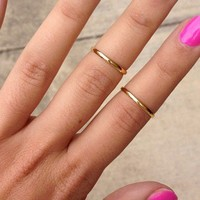 SABO SKIRT  Thin Upper Knuckle Ring - $3.00