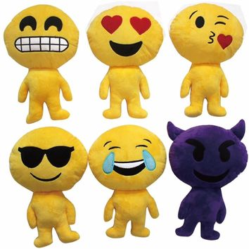 Emoji Plush Dolls - CASE OF 72