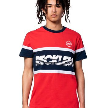 Soccer Sweeper Jersey - Red/Blue
