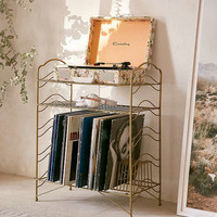 Vinyl Record Storage Shelf | Urban Outfitters