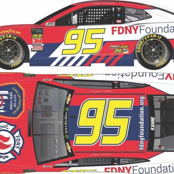 Kasey Kahne 2018 #95 FDNY Foundation ZL1 Camaro Chrome 1:24 ARC - PRE-ORDER