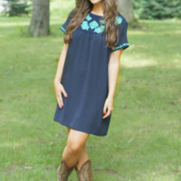 All At Once Shift Dress