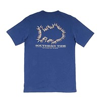 Keep 'Em Cold T-Shirt in Yacht Blue by Southern Tide