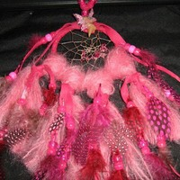 Fairy Crystals Dreamcatcher