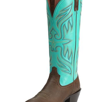 Ariat Round Up Buckaroo - Vintage Bomber/Turquoise
