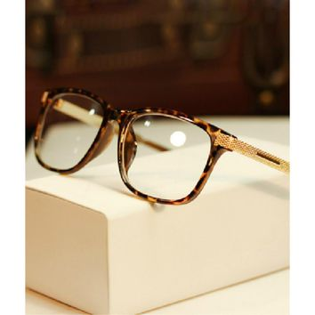 2017 hot New High Quality Metal Female Grade Glasses Frame Eyeglasses Vintage Men Women Optical Computer Spectacle Eye Glasses