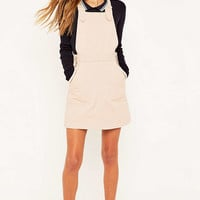 Urban Outfitters Twill Dungaree Dress - Urban Outfitters