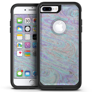 Slate Marble Surface V35 - iPhone 7 or 7 Plus Commuter Case Skin Kit