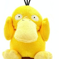 Pokemon Pikachu psyduck Koduck plush doll toy 5""