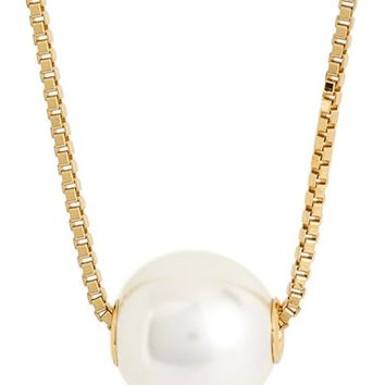 Rebecca Minkoff Faux Pearl Long Pendant Necklace | Nordstrom