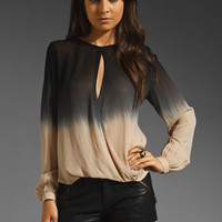 Young, Fabulous & Broke Caliente Ombre Top in Black from REVOLVEclothing.com