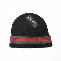 Perfect Gucci Print Hiphop Women Men Beanies Winter Knit Hat Cap