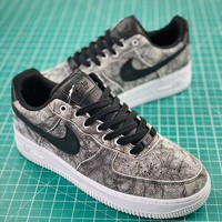 Nike WMNS Air Force 1 '07 Lxx Grey Sport Shoes - Best Online Sale