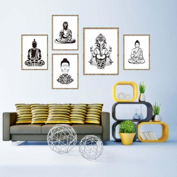 Hindu Spiritual Wall Art No Frame