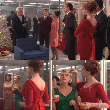 Joan Holloway Wiggle DressChristmas PartyMad Men by Morningstar84