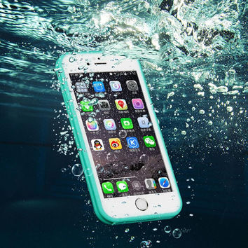 Cell Phone Waterproof Shockproof DustProof Case Cover