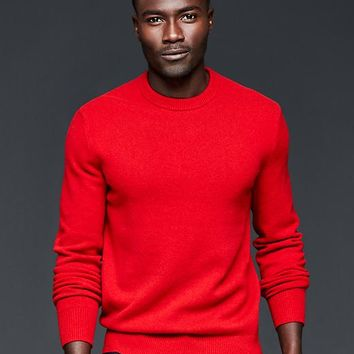 Gap Men Lambswool Crew Sweater