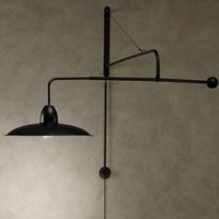 1940s Architectural Boom Sconce | | Restoration Hardware