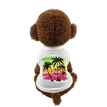 dog clothes summer chihuahua pet dog clothes dachshund roupa de cachorro pet products 2017 dogs and cats