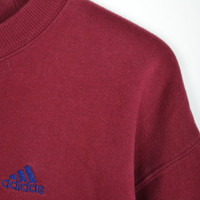 Red and Blue Adidas Sweatshirt
