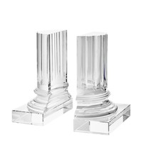 Glass Bookends (set of 2) | Eichholtz Rival