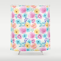 Lisa Shower Curtain by sylviacookphotography