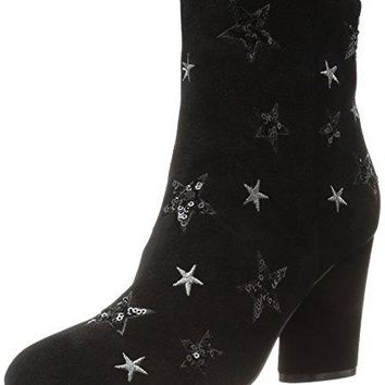 Women's Oval Heel Ankle Bootie The Fix Nash Star Sequin