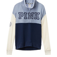 High/Low Half Zip - Victoria's Secret