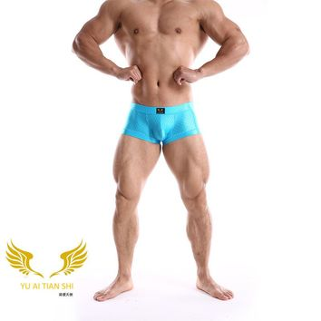 2017 new men's underwear sexy pants scales high-grade U convex angle of four young sexy bottom pants shorts head