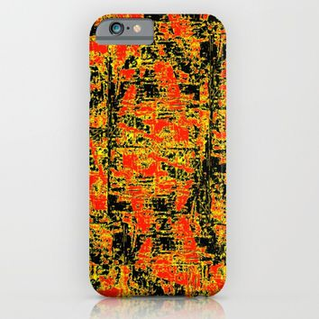 Golden Red iPhone & iPod Case by Bruce Stanfield | Society6