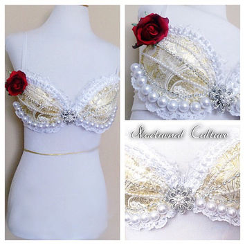 Princess Belle Rave Bra