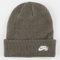 Nike Sb Fisherman Beanie Grey One Size For Men 26452111501