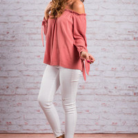 So Easy To Love Top, Terracotta