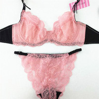 Summer style lace and sexy Women Bra Set