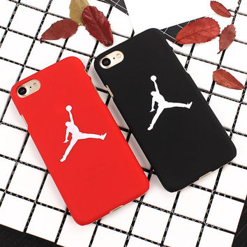 7 & 7 Plus Case Flying Man Michael Jordan PC Hard Case For iphone 7 Plus Back Cover For  iphone 6s 6 Plus SE 5S Cases Fundas