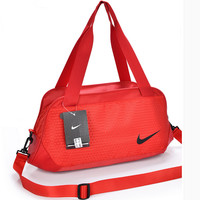 """Nike"" Pattern Casual Travel Bag Handbag The Single Shoulder Bag Red"