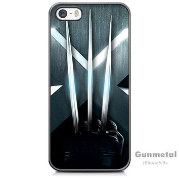 X-Men Luxury Chrome Hard Case Cover for iPhone 5 / 5s / SE